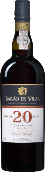 Barão de Vilar 20 Years old Port